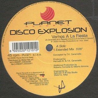 Disco Explosion - Vamos A La Fiesta (12'')