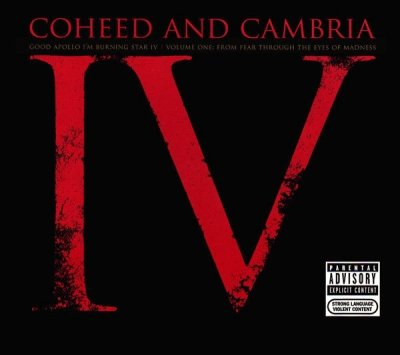 Coheed And Cambria - Good Apollo I'm Burning Star IV   Volume One: From Fear Through The Eyes Of Madness (CD)