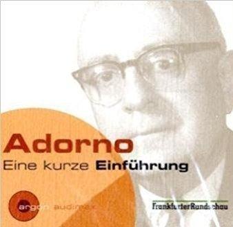 Adarno Eine Kurze Einfuhrung (Audiobook) (CD)