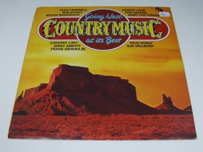Going West (Country Music At It's Best) (LP)