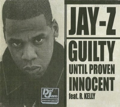 Jay-Z - Guilty Until Proven Innocent (Maxi-CD)