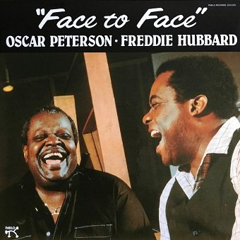 Freddie Hubbard & Oscar Peterson - Face To Face (LP)