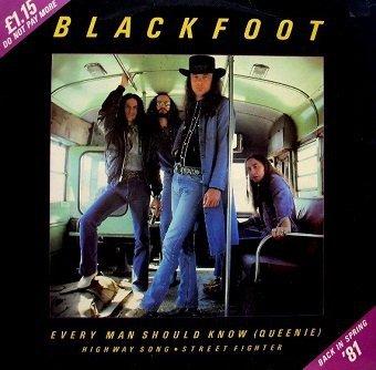 Blackfoot - Every Man Should Know (Queenie) (12'')