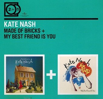 Kate Nash - Made Of Bricks + My Friend Is You (CD)