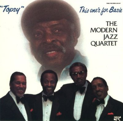 The Modern Jazz Quartet - Topsy This One's For Basie (CD)