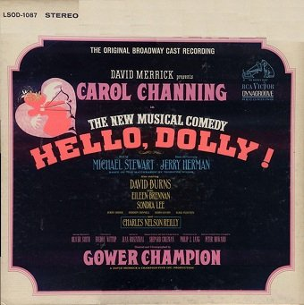 David Merrick Presents Carol Channing - Hello, Dolly! (The Original Broadway Cast Recording) (LP)