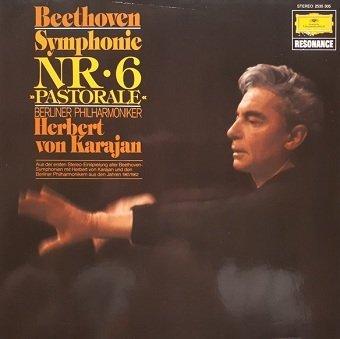 Beethoven, Berliner Philharmoniker - Herbert von Karajan - Symphonie Nr. 6 Pastorale (LP)