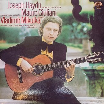 Vladimír Mikulka, Mauro Giuliani, Joseph Haydn - Guitar (LP)