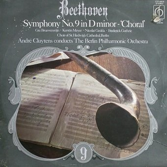 Beethoven - André Cluytens Conducts Berlin Philharmonic Orchestra - Symphony No. 9 In D Minor - Choral (LP)