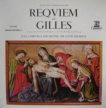 Jean Gilles - Orchestre De Chambre Jean-François Paillard - Chorale Philippe Caillard - Messe De Requiem (LP)
