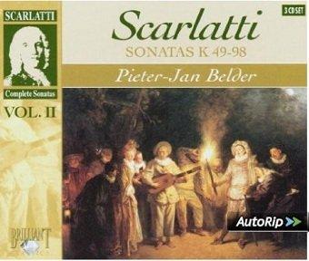 Scarlatti, Pieter-Jan Belder - Sonatas K 49 - 98 (3CD)