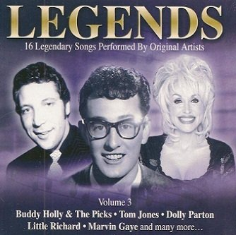 Legends - Volume 3 (CD)