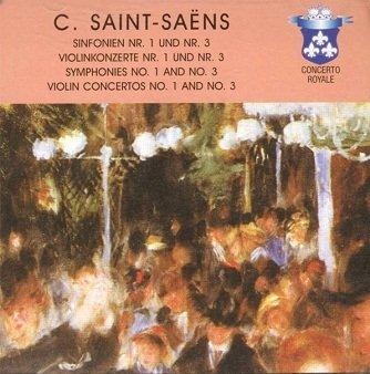C. Saint-Saëns - Symphonies No. 1 And No. 3 - Violin Concertos No. 1 And No. 3 (3CD)