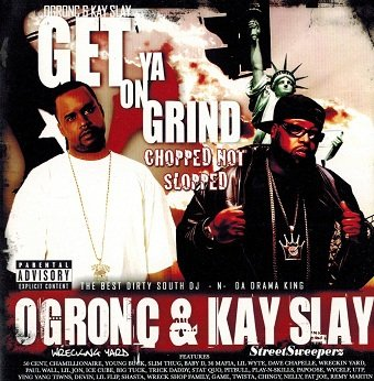 OG Ron C & Kay Slay - Get On Ya Grind: Chopped Not Slopped (CD)