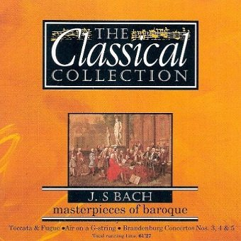 J. S. Bach - Masterpieces Of Baroque (CD)