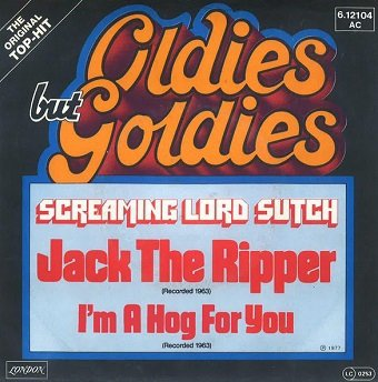 Screaming Lord Sutch - Jack The Ripper (7'')