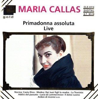 Maria Callas - Primadonna Assoluta Live (CD)