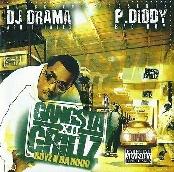 DJ DramP. Diddy - Gangsta Grillz 12 (Boyz N Da Hood) (CD)