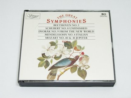 The Great Symphonies Vol. 1 (Schubert, Beethoven, Dvorak...) (3CD)