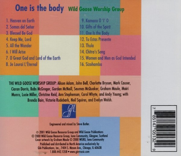 One Is The Body - John. L. Bell, Wild Goose Worship Group (CD)