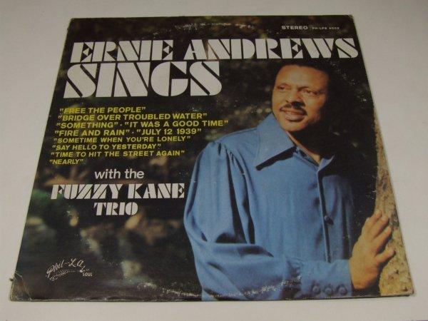Ernie Andrews And The Fuzzy Kane Trio - Ernie Andrews Sings With The Fuzzy Kane Trio (LP)