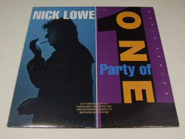 Nick Lowe - Party Of One (LP)