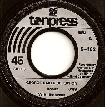 "George Baker Selection - Rosita (7"")"