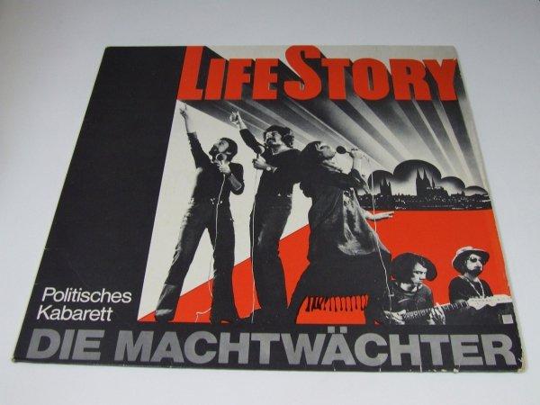 Die Machtwächter - Life Story (Politisches Kabarett) (LP)