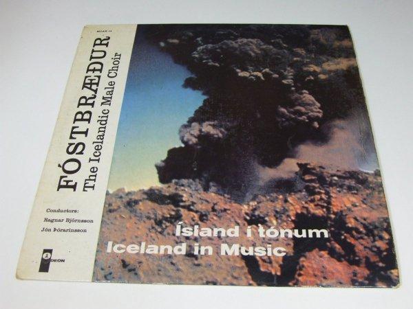 Fóstbræður - Ísland Í Tónum (LP)