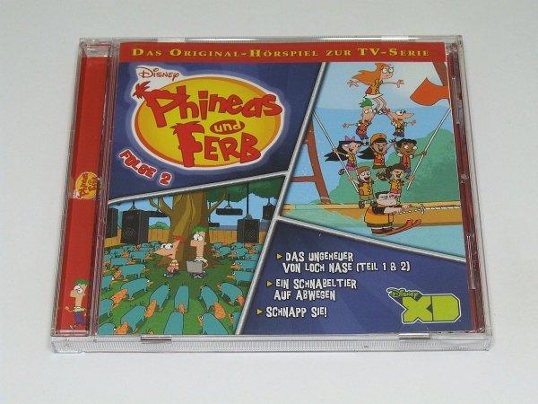 Phineas Und Ferb - Folge 2 - Das Original-Horspiel Zur Serie (CD)