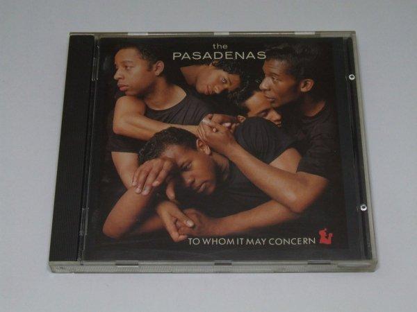 The Pasadenas - To Whom It May Concern (CD)