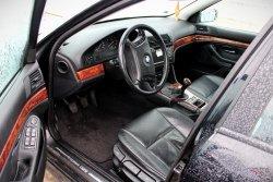 Fotel fotele lewy prawy kanapa tapicerki BMW 5 E39 2001 Sedan (skóra)