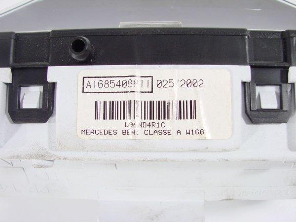 Licznik zegary Mercedes A-klasa W168 2002 1.4i 166940