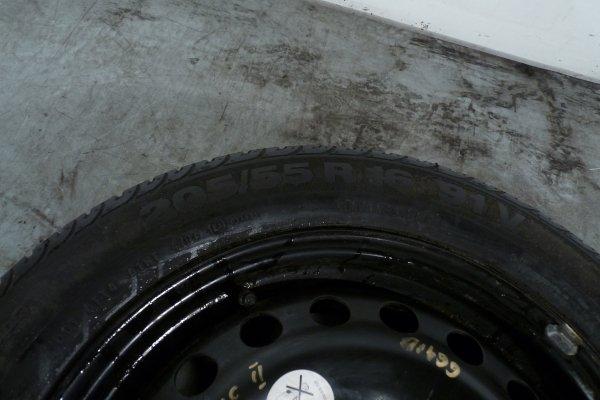 Koło zapasowe 205/55 R16 4X100 Renault Scenic II 2004