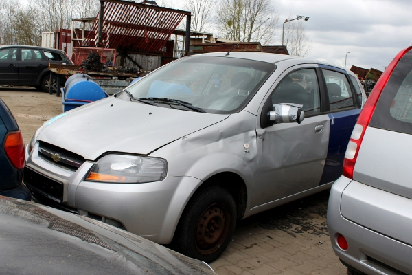 Silnik Chevrolet Kalos T200 2006 1.2 B12S1