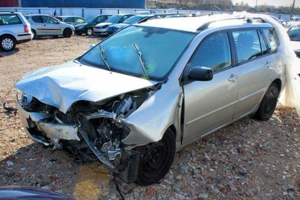 Szyba karoseryjna prawa Toyota Corolla E12 2006 Komb