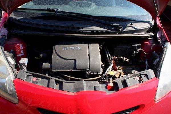 Szyba tylna tył Toyota Aygo 2005 Hatchback 5-drzwi