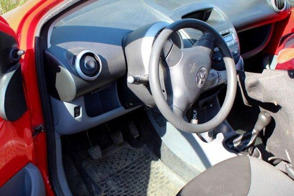 Błotnik przód prawy Toyota Aygo 2005 Hatchback 5-drzwi (kod lakieru: 3P0)