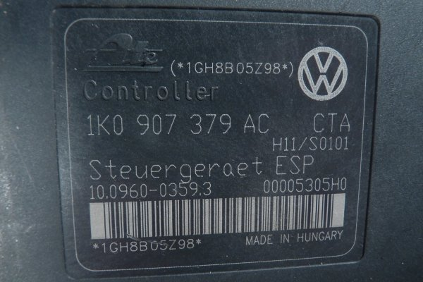 Pompa ABS Audi A3 8P 2008 2.0TDI
