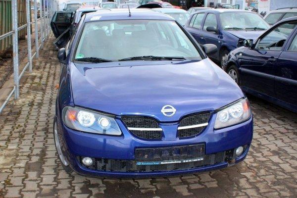 Błotnik przód prawy Nissan Almera N16 2003 (Kod lakieru: BW6)