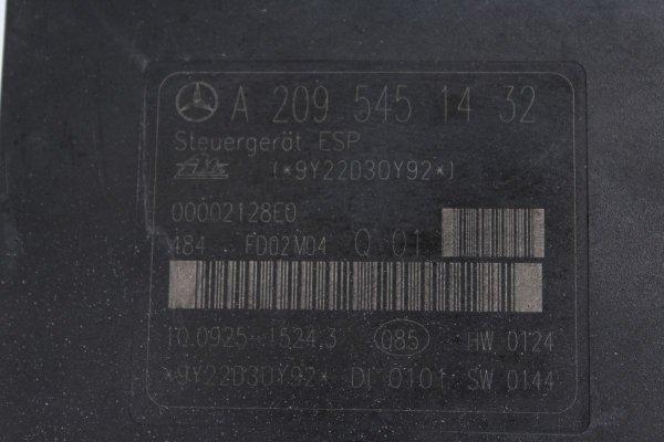 Pompa ABS Mercedes C-klasa W203 2002 2.2CDI 611962
