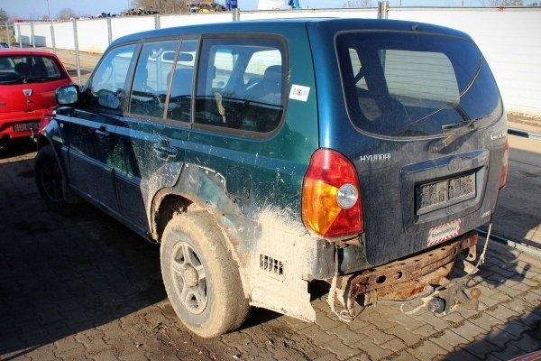 Hyundai Terracan 2001 2.9CRDI J3