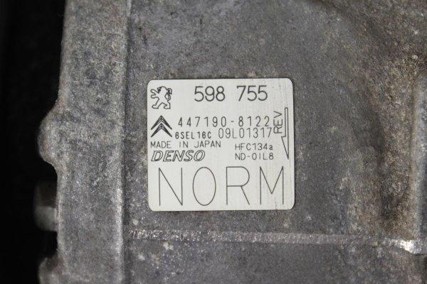Sprężarka pompa klimatyzacji Citroen C4 Picasso 2010 1.6i