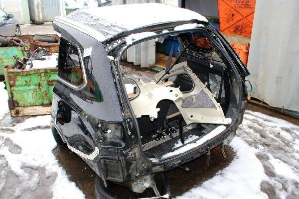 Pas tył Mitsubishi Outlander III 2014