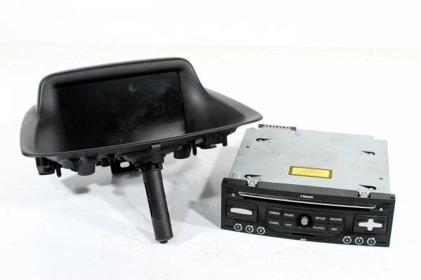 Radio nawigacja wyświetlacz Citroen C3 Picasso 2008-