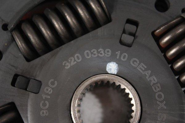 Sprzęgło tarcza docisk Skoda Fabia 6Y 2002 1.4i AUA
