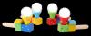 DMUCHAWKA Logopedyczna Piłeczka do Dmuchania PLAYME