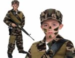 Siły Specjalne ŻOŁNIERZ 5w1 Strój Karnawałowy 104 KOSTIUM