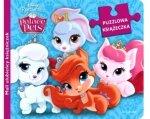 PUZZLOWA KSIĄŻECZKA Palace Pets 2w1 Disney