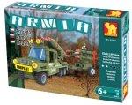 ARMIA Corps Klocki RAKIETNICA 22505